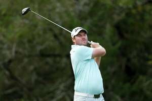 SAN ANTONIO, TX - APRIL 19:  Grayson Murray plays his shot from the fifth tee during the first round of the Valero Texas Open at TPC San Antonio AT&T Oaks Course on April 19, 2018 in San Antonio, Texas.