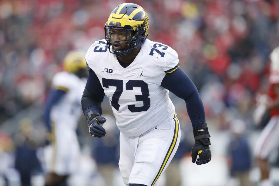 half off a66ef 29a0d Raiders' fifth-round pick: Michigan DT Maurice Hurst - SFGate
