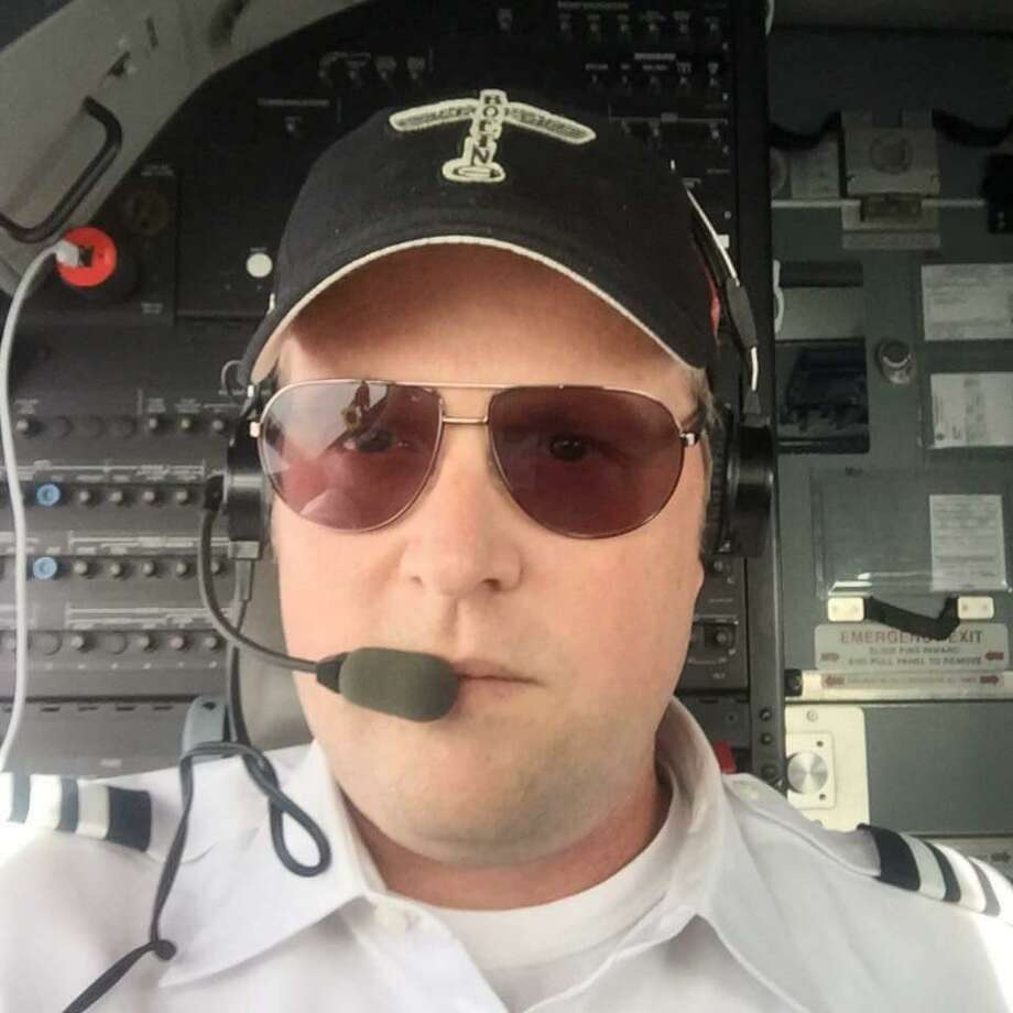 Darren Ellisor was co-piloting with Captain Tammie Jo Shults when one of two engines exploded on their Southwest Airlines flight. Photo: Family / Courtesy / Courtesy