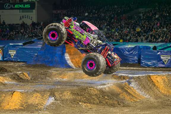 Rosalee Ramer's Wild Flower will be in action in Monster Jam on Saturday night at Levi's Stadium.