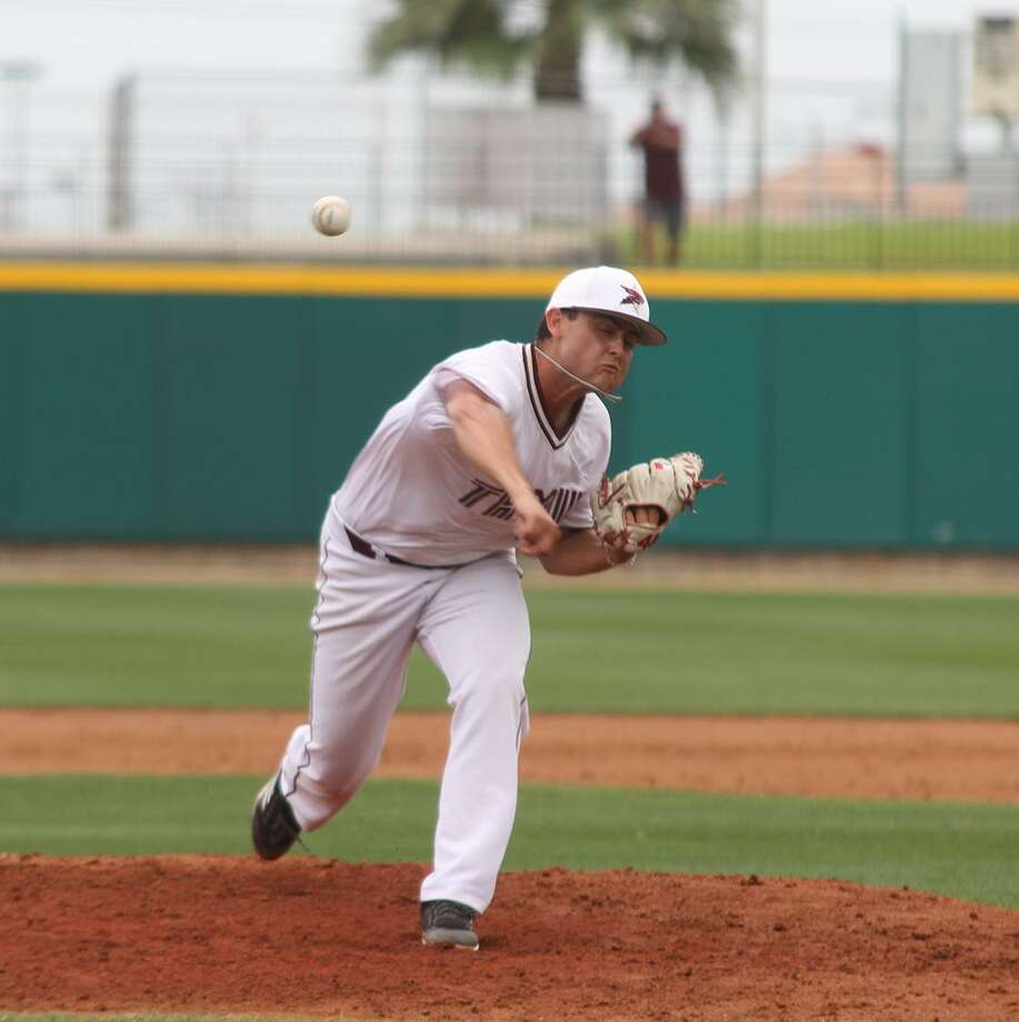 TAMIU pitcher Ruben Solis Photo: Courtesy Of TAMIU Athletics, File