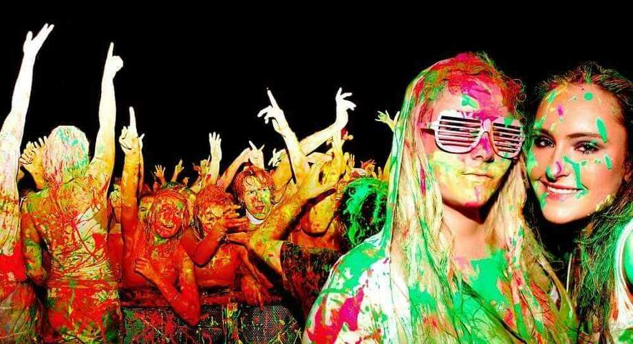 Friday night Laredo's first-ever paint party will feature nine local DJs and gallons of paint. Photo: Courtesy