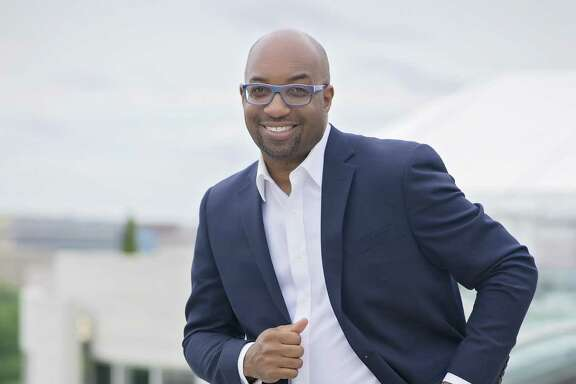 "Inprint Cool Brains! Reading for Young People presents Newbery Medal-winner and New York Times bestseller Kwame Alexander. He comes to Houston as part of a 21-city bus tour to share his new middle grade novel ""Rebound,"" the companion to ""The Crossover."""