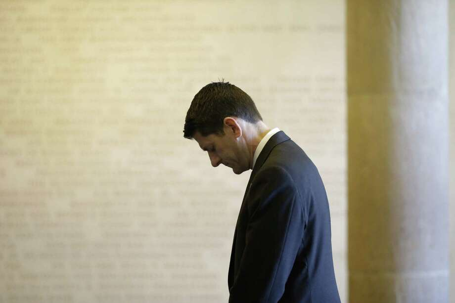 House Speaker Paul Ryan's departure as speaker means the party is now more Trump than Reagan. Photo: File Photo /Getty Images / 2016 Getty Images