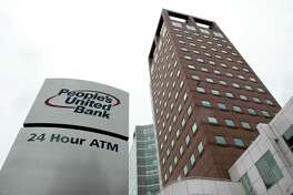 The People's United Bank at 850 Main Street in Bridgeport, Conn.