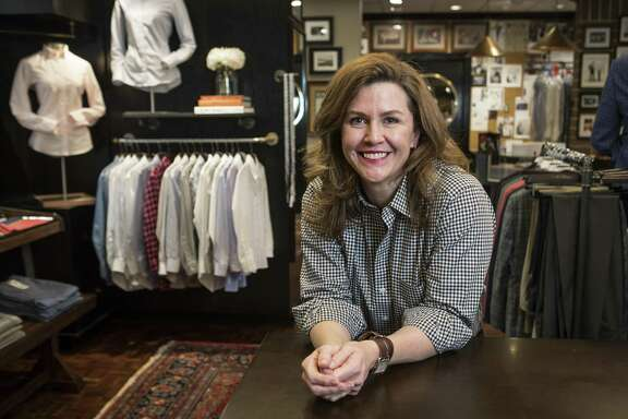 Kelly Hamilton, who co-owns the 100-year old brand, has launched a line of women's shirts.
