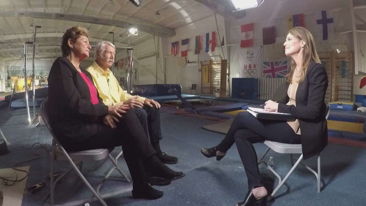 Former USA Gymnastics national team coordinators Bela and Martha Karolyi speak for the first time about the Larry Nassar sexual abuse scandal in an interview with NBC's Savannah Guthrie at 6 p.m. Sunday.