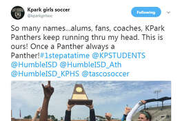 The team sent this tweet out after winning the regional final