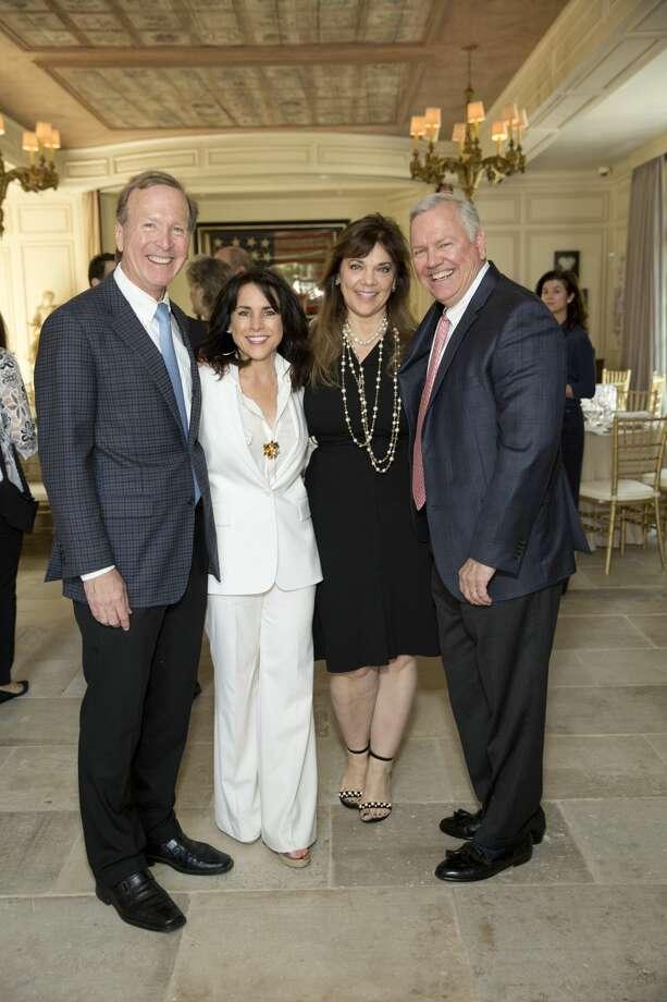 Neil and Maria Bush with Terri and John Havens Photo: Jenny Antill