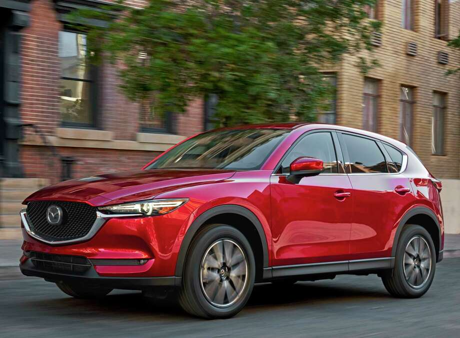 Mazda redesigned its CX-5 compact crossover for 2017, moving it into its second generation. For 2018., prices begin at $24,150 (plus $975 freight) and range as high as $30,945. Photo: Mazda