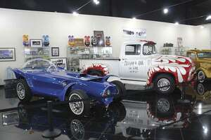 The Roth Orbitron and the 1956 F100 are part of the exhibition. (Photo by Heidi Van Horne)