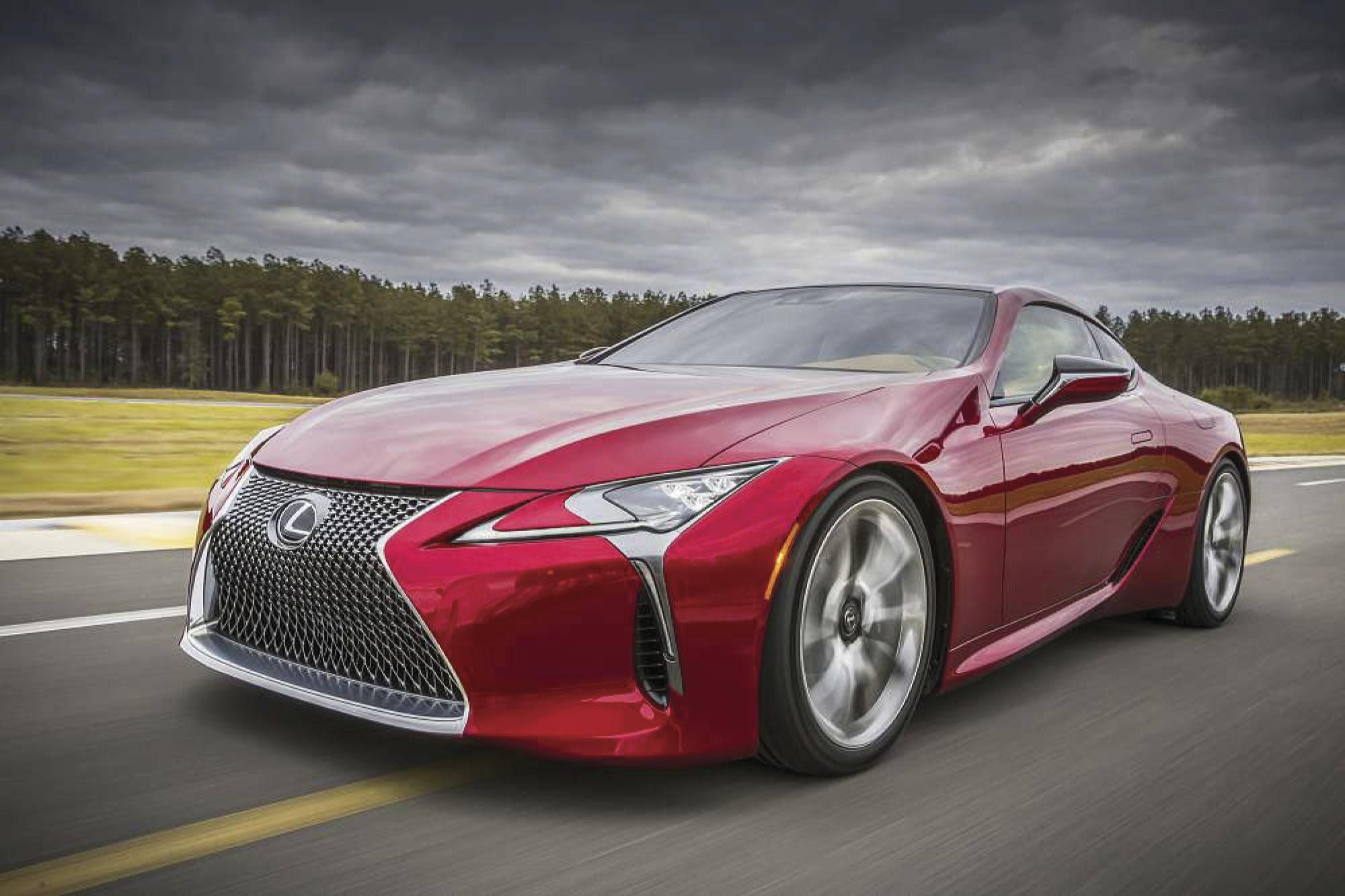 Fast and luxurious: Lexus LC 500 is 2018's Car of Texas
