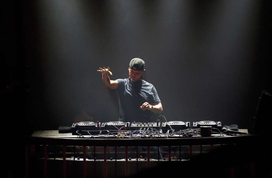 DJ Avicii performs onstage during Rolling Stone Live SF with Talent Resources on February 7, 2016 in San Francisco, California.  (Photo by Rich Polk/Getty Images for Rolling Stone) Photo: Rich Polk/Getty Images For Rolling Stone