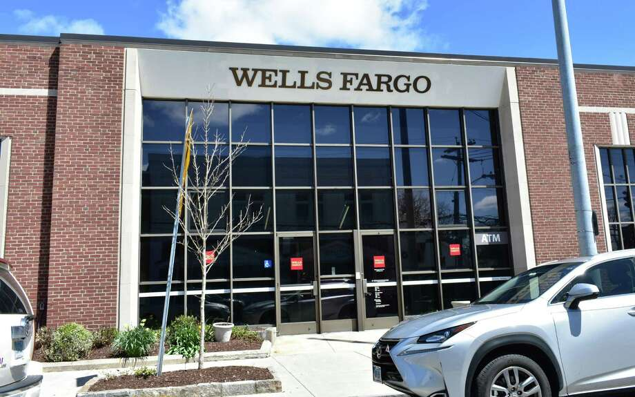 A Wells Fargo branch in April 2018 on Sound Beach Avenue in Greenwich, Conn. Photo: Alexander Soule / Hearst Connecticut Media / Stamford Advocate