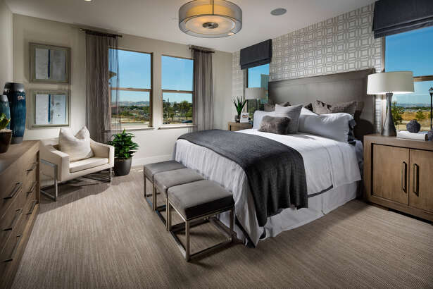 The homes at Harmony at Sage Livermore offer single-level living floor plans.