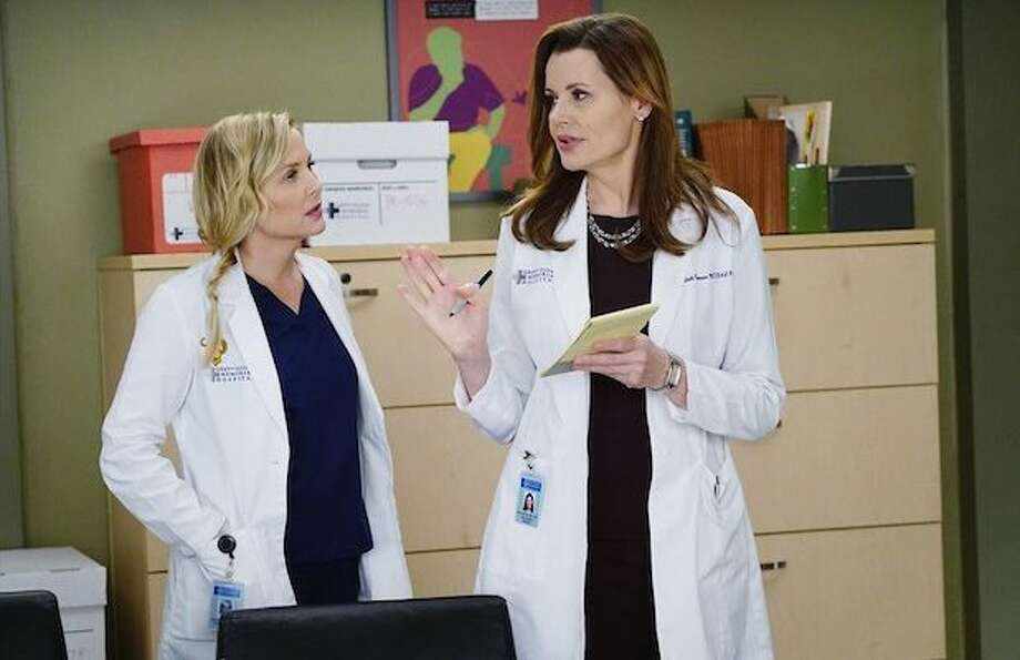 Greys Anatomy Geena Davis Will Reprise Her Role As Dr Nicole