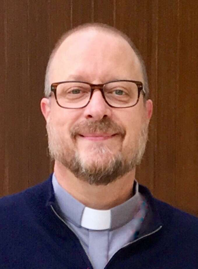 The Rev. Arthur Mollenhauer is pastor at St. Roch's Parish in Greenwich in March 2018. Photo: Contributed