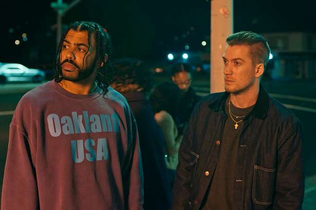 "A still from the 2018 film ""Blindspotting."""