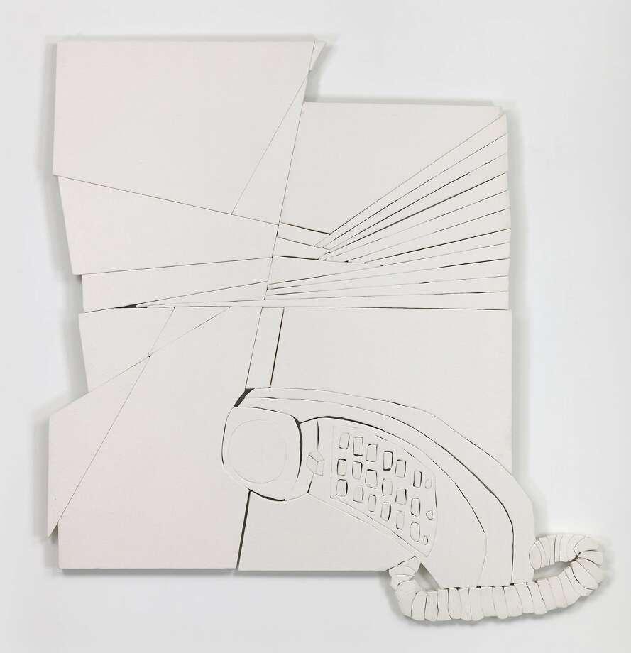 "Wyatt Kahn's ""Drift and Receive"" (2018) is on view at Adrian Rosenfeld Gallery. Photo: Adrian Rosenfeld Gallery"