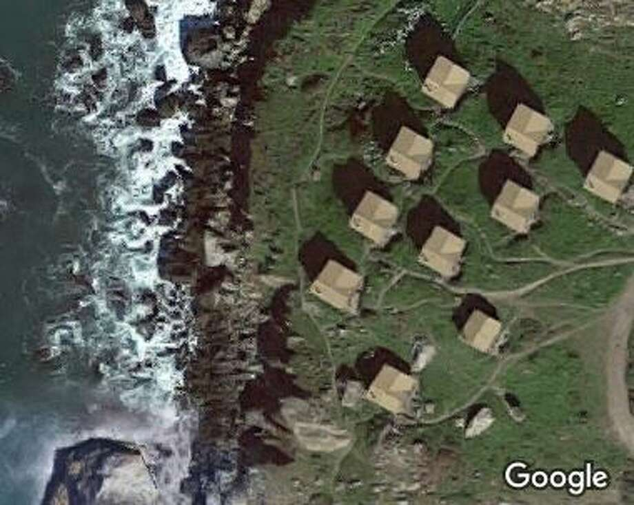 Are those townhomes on the Marin coast? Photo: Google Maps