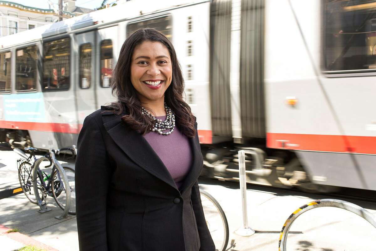 London Breed, San Francisco mayoral candidate, has 28 percent of the vote in a recent poll.
