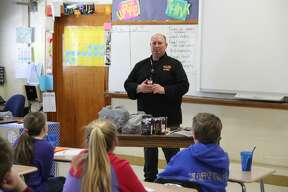 Bad Axe Middle School hosted its annual Career Day Friday afternoon to give students an opportunity to learn about the different lines of work they could enter after graduation.