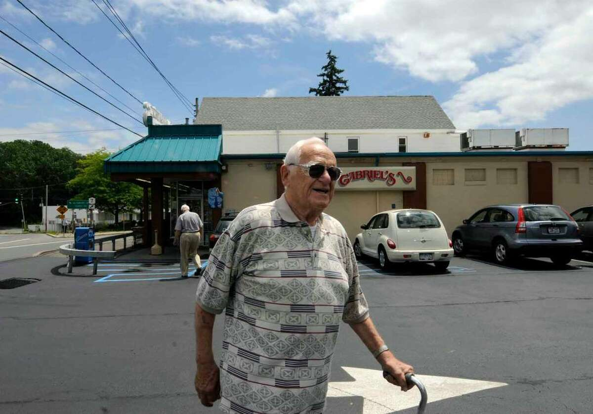 Former Rotterdam policeman Ernest Townsend , now 84 years old, was on the scene at Gabriel's market when the tornado of 1960 hit in Rotterdam.( Michael P. Farrell / Times Union )