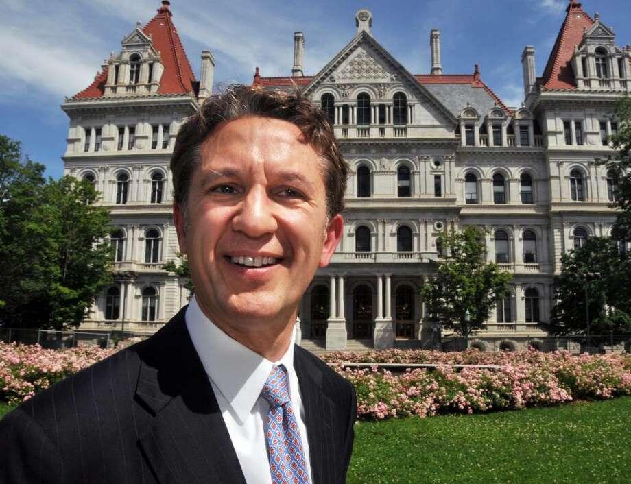 Rick Lazio reports a hefty Wall Street paycheck plus investment property in Manhattan. Photo: John Carl D'Annibale / 10009276A