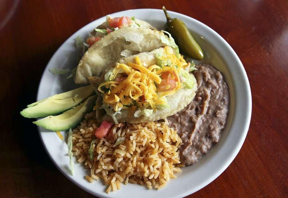 Ray's Drive Inn:822 SW 19th St.Taco: Avocado Puffy TacoRating: 5Price: $2.15 Photo: Tom Reel /San Antonio Express-News / San Antonio Express-News