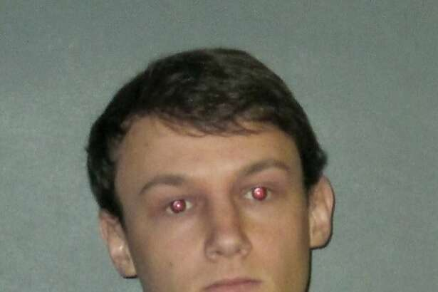 FILE-This undated file photo provided by the East Baton Rouge Sheriff's Office shows Matthew Naquin, one of ten people arrested Wednesday, Oct. 11, 2017, on hazing charges in the death of Maxwell Gruver, a Louisiana State University fraternity pledge whose blood-alcohol content level was more than six times the legal limit for driving, officials said. Naquin, of Boerne, Texas, also faces a negligent homicide charge. (East Baton Rouge Sheriff's Office via AP, File)