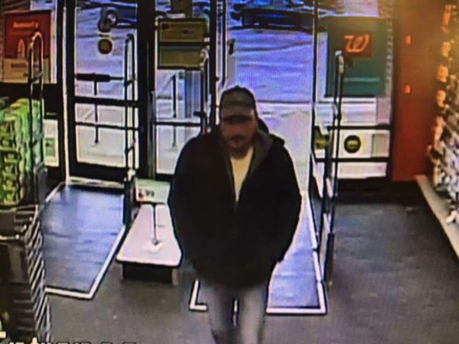 Police are searching for a shoplifter who stole $52 worth of energy drinks Thursday afternoon. Photo: Photo Courtesy Of Hamden Police