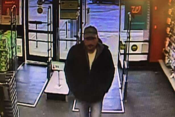 Police are searching for a shoplifter who stole $52 worth of energy drinks Thursday afternoon.