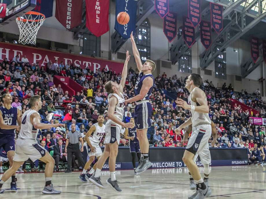 Blake Reynolds, a forward, has been named captain of the 2018-19 Yale men's basketball team by his teammates. Photo: Steve Musco / Yale Athletics / ©2018 Steve Musco , All rights reserved