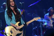 "Alanis Morissette performs at the MDA Show of Strength held at CBS Television City on August 9, 2012, in Los Angeles. Critics find it ironic that her hit song, ""Ironic,"" contains no irony."