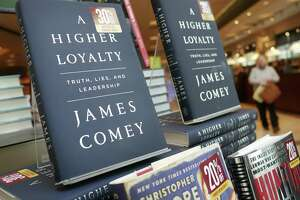 """This book, """"A Higher Loyalty,"""" has sparked a war of word in which the author, former FBI Director James Comey, has sunk to Donald Trump's level."""
