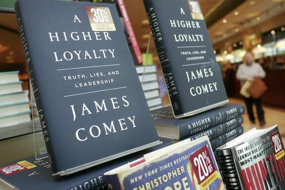 "This book, ""A Higher Loyalty,"" has sparked a war of word in which the author, former FBI Director James Comey, has sunk to Donald Trump's level."