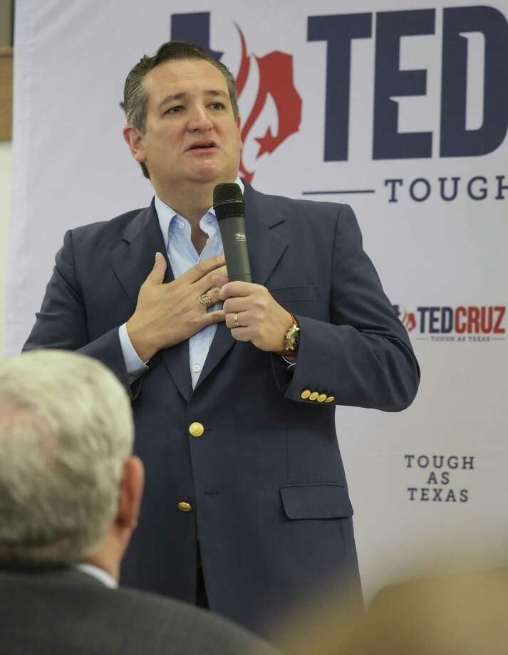 US Senator Ted Cruz makes a stop in Midland 04/04/18 at Discovery Operating, speaking to area residents on a campaign tour of Texas. Tim Fischer/Reporter-Telegram Photo: Tim Fischer, Photographer / Midland Reporter-Telegram