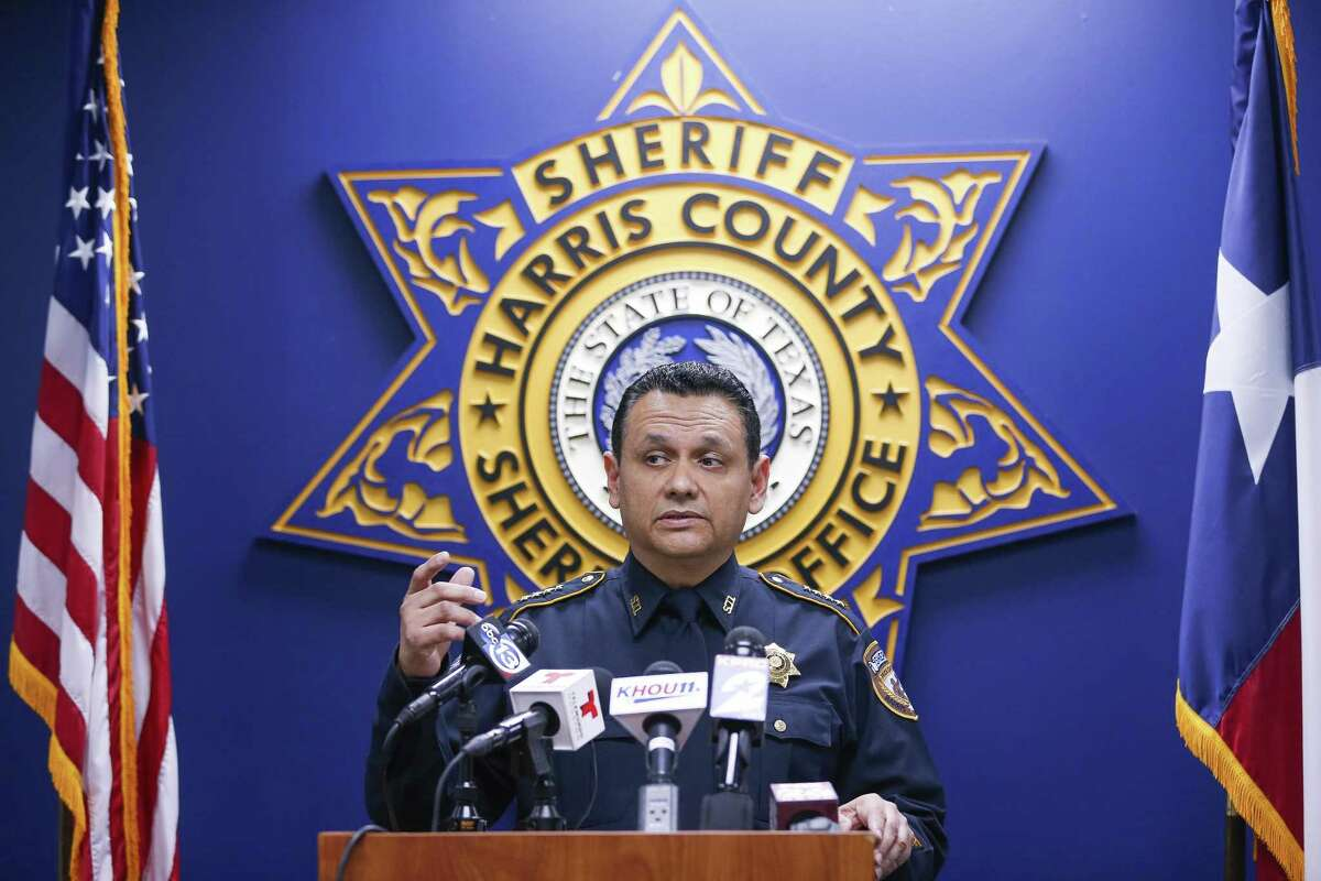 Harris County Sheriff Ed Gonzalez speaks to reporters while releasing dash cam video of the fatal deputy-involved shooting of Danny Ray Thomas Monday, March 26, 2018 in Houston. (Michael Ciaglo / Houston Chronicle) >>See some of the crimes that shocked the Lone Star State this year in the photos that follow...