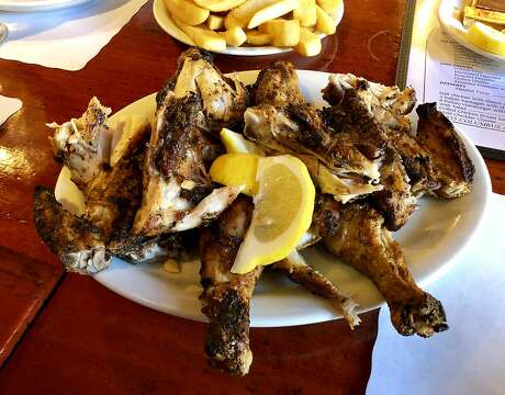 Chicken butterflied and grilled is an Il Pollaio specialty. Photo: Michael Bauer / The Chronicle