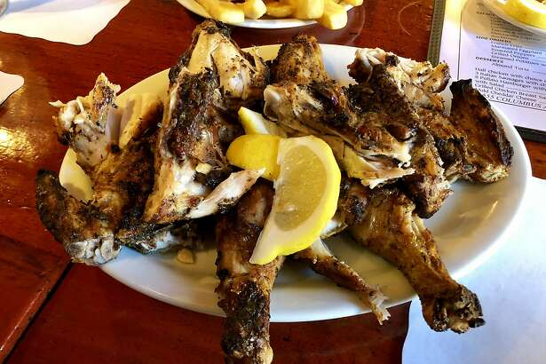 Il Pollaio always has chicken on the grill, so it can come to the table quickly.