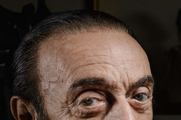 """Philip Zimbardo in the living room of his home on Russian Hill in San Francisco, where he's lived for 45 years. His father, a Sicilian immigrant, hadn't achieved more than an elementary school education and thought Philip was lazy for pursuing one. """"He meant well, but he didn't know well,"""" Mr. Zimbardo said of him."""