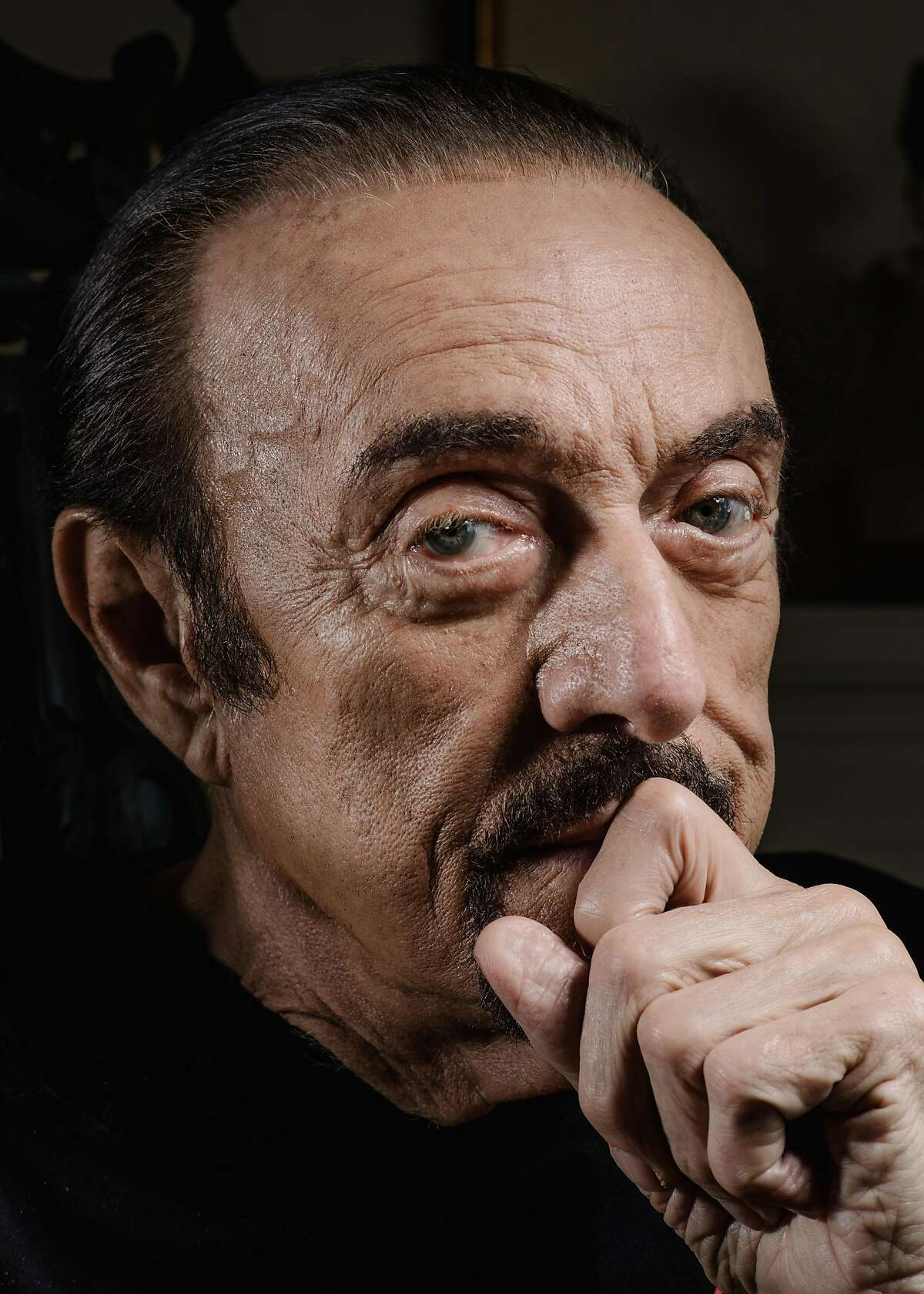 Philip Zimbardo in the living room of his home on Russian Hill in San Francisco, where he's lived for 45 years. His father, a Sicilian immigrant, hadn't achieved more than an elementary school education and thought Philip was lazy for pursuing one.