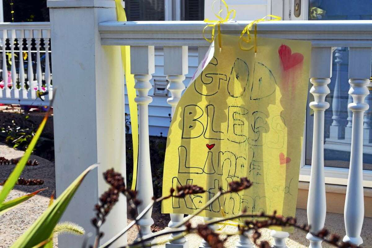 Yellow ribbons were tied along bannisters and railings at Linda Carman's Middletown home when she first went missing in September 2016.