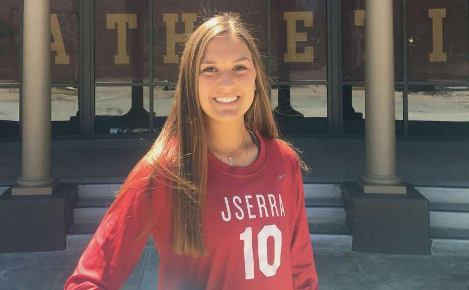 Isabella D'Aquila one of six forwards selected last month to the 20-player roster for the CONCACAF Under-17 Women's Championship. Photo: Photo Courtesy Of JSerra Catholic High