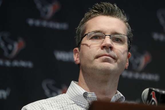 The Houston Texans new GM Brian Gaine as the Texans held a press conference to introduce their new free-agent signees at NRG Stadium, Thursday, March 15, 2018, in Houston.  ( Karen Warren / Houston Chronicle )