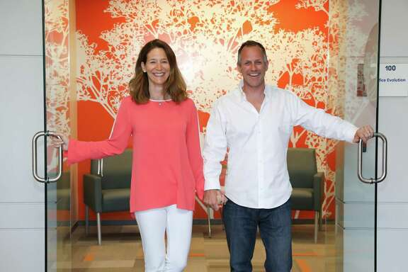 Franchisees Leigh and Fritz Fowler opened the first Office Evolution location in the Houston market. The co-working center is at 1300 W. Sam Houston Parkway South in Westchase.