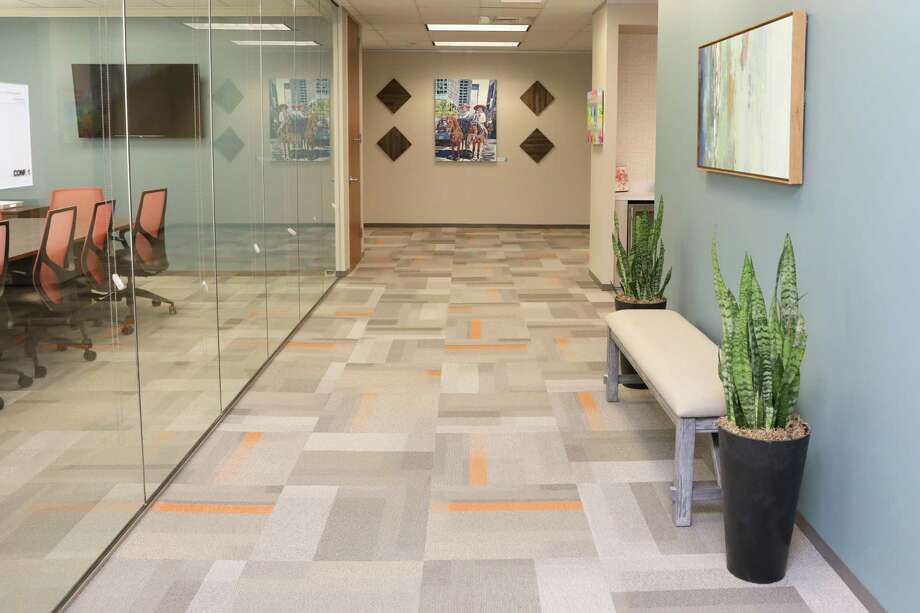 Office Evolution's new location at 1300 W. Sam Houston Parkway South offers furnished private offices and shared workspaces.