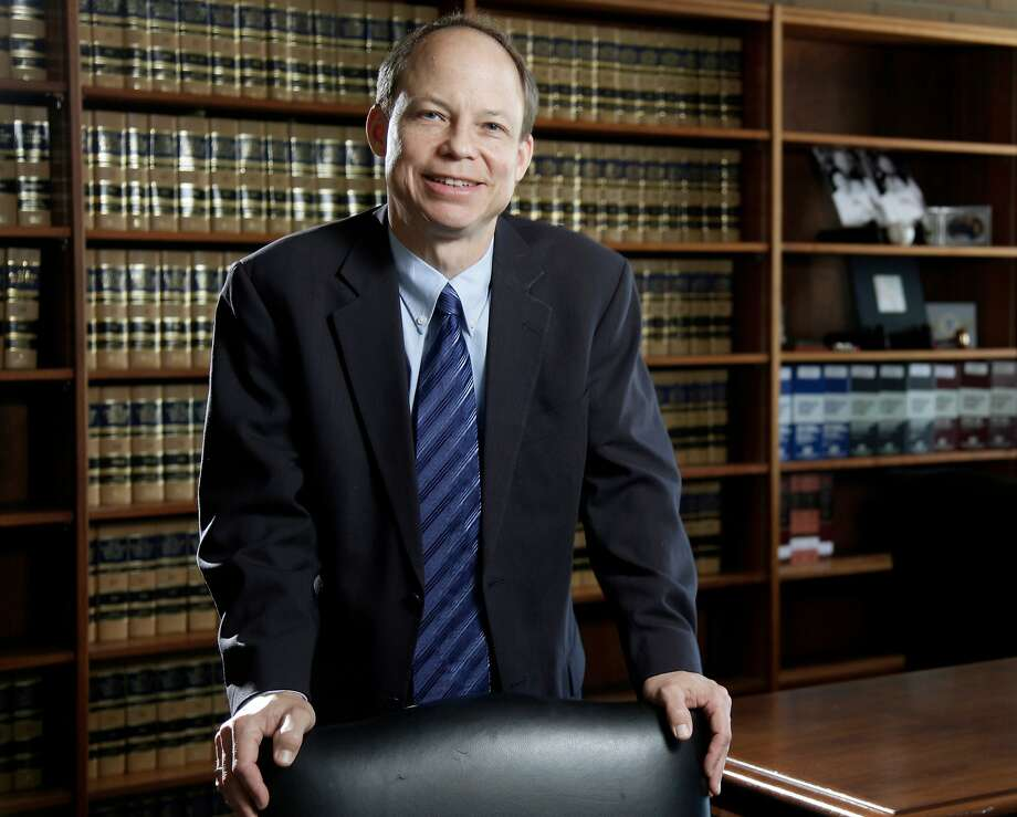 FILE - in this June 27, 2011, file photo, Santa Clara County Superior Court Judge Aaron Persky poses in Santa Clara, Calif. Persky, who faces a recall vote over his handling of a sexual assault case involving a Stanford University swimmer, said in an interview Thursday, April 19, 2018, that says he supports the movement to improve how sexual assault victims are treated, but added that ousting him will not help the cause. (Jason Doiy/The Recorder via AP, File) Photo: Jason Doiy / Associated Press