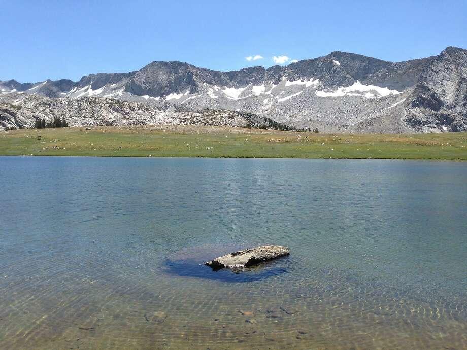 Gallison Lake in Yosemite's high country. Photo: Eric Gustafson