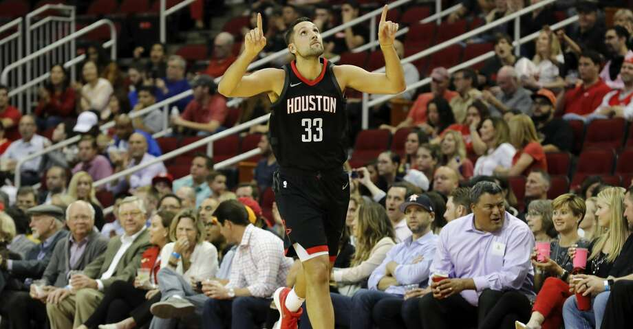 Ryan Anderson, 29, only started 50 games for a 65-win team and he didn't touch the court during two first-round wins against Minnesota in Houston. Photo: Tim Warner/Getty Images